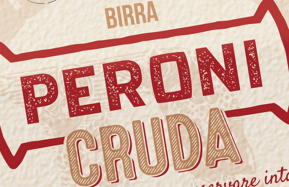 Packaging Design Peroni Cruda