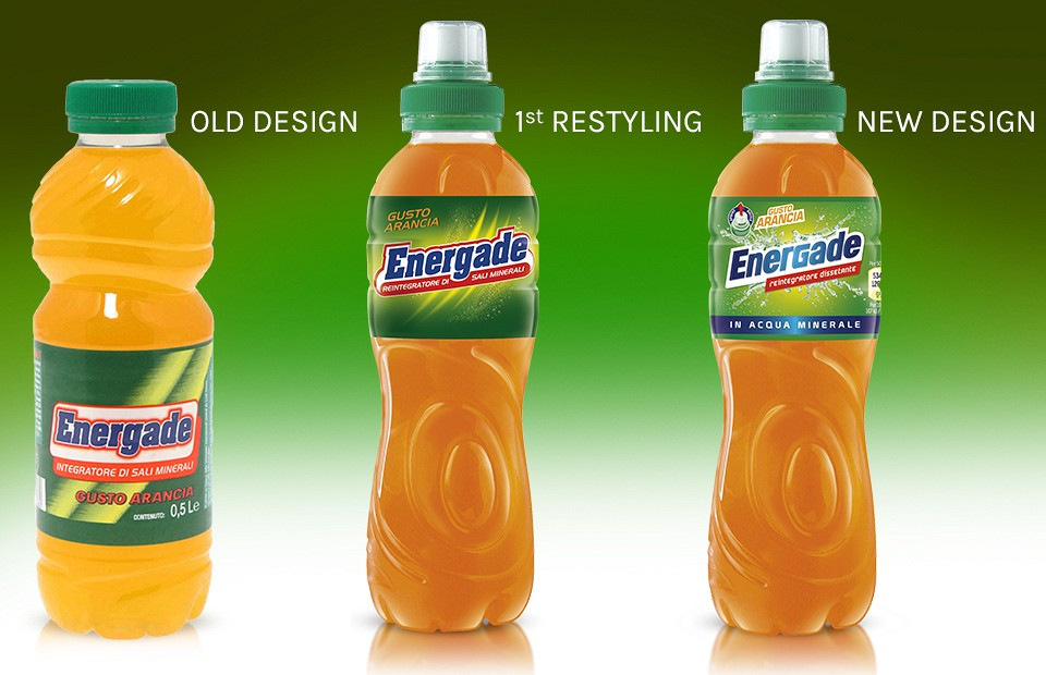 Packaging Design Energade
