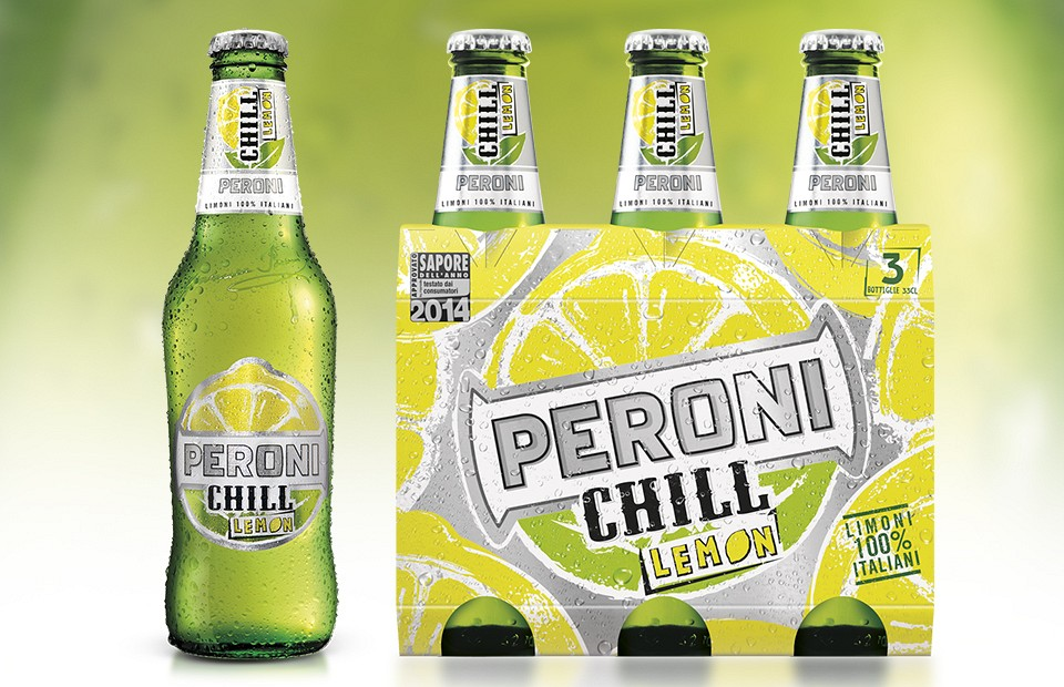 Packaging Design Peroni Chill