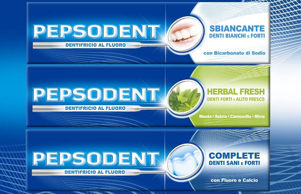 Packaging Design Pepsodent