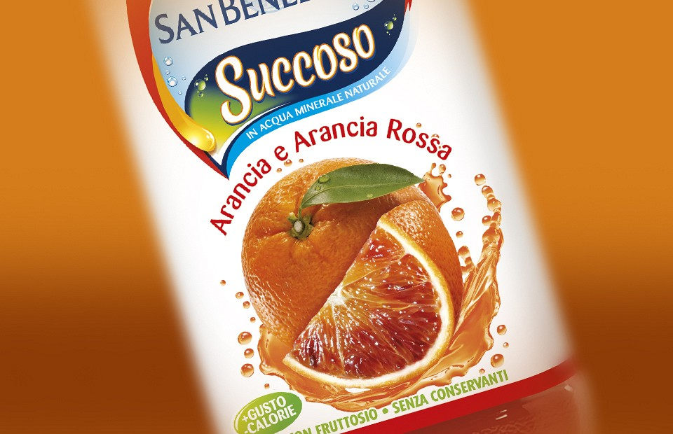 Packaging Design San Benedetto Succoso
