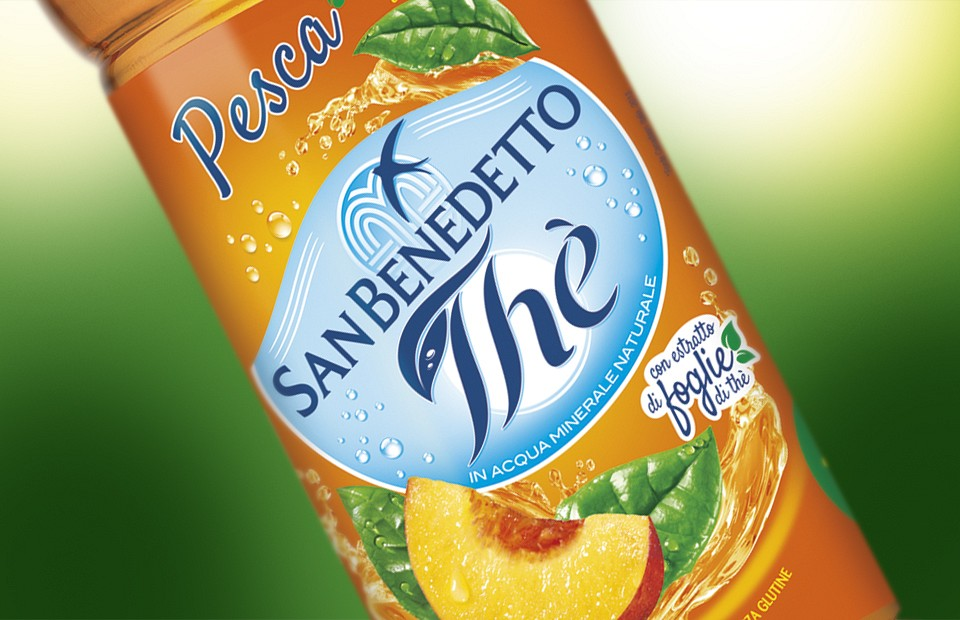Packaging Design San Benedetto Thè