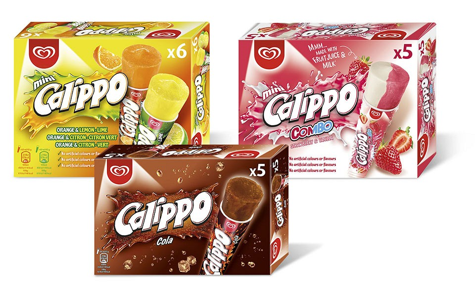 Packaging Design Calippo