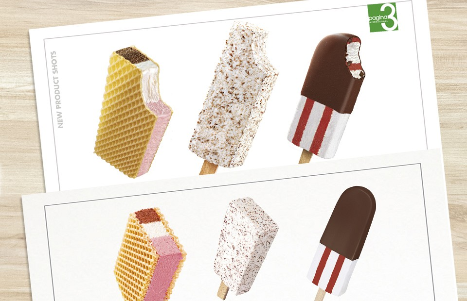 Packaging Design Implementation Classics Ice cream