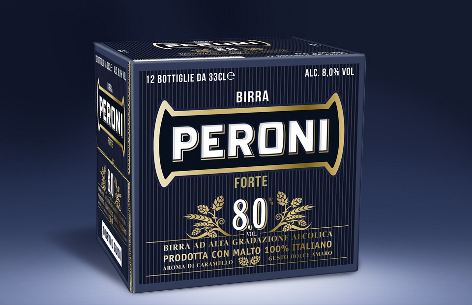 Packaging Design Peroni Forte