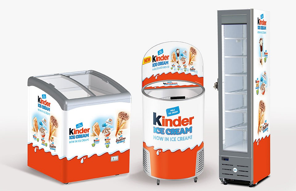POS Kinder Ice Cream